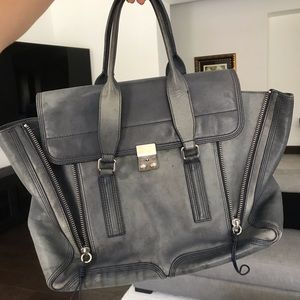 PHILLIP LIM Blue Pashli Handbag